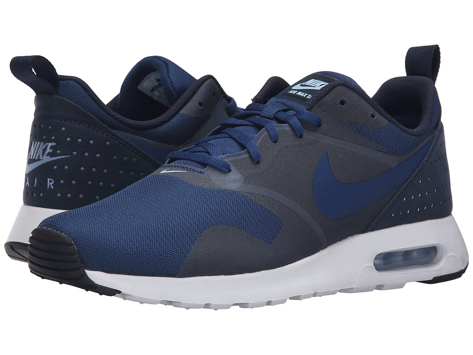 Nike - Air Max Tavas (Coastal Blue/Coastal Blue/Obisidian/White) Men's Shoes