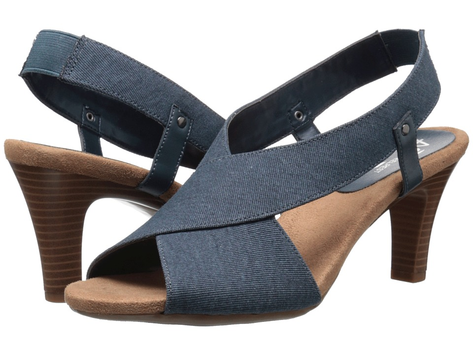 Aerosoles - Rotmail (Denim Fabric) Women's Sling Back Shoes