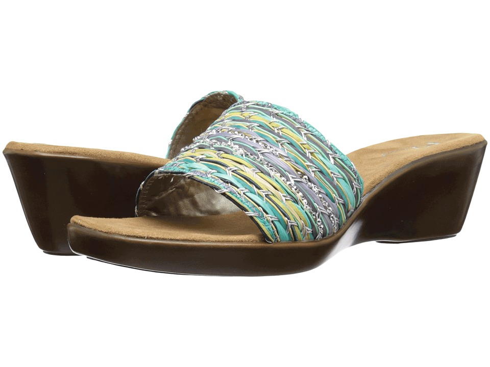 Aerosoles - Say-Yes (Blue Green Multi) Women's Shoes