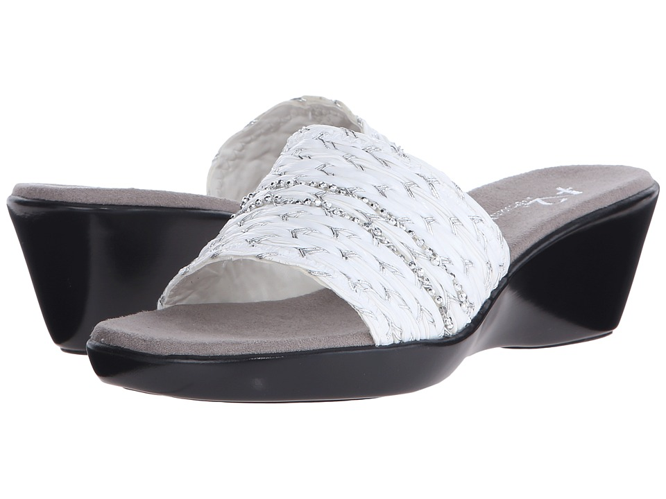 Aerosoles - Say-Yes (White Combo) Women's Shoes
