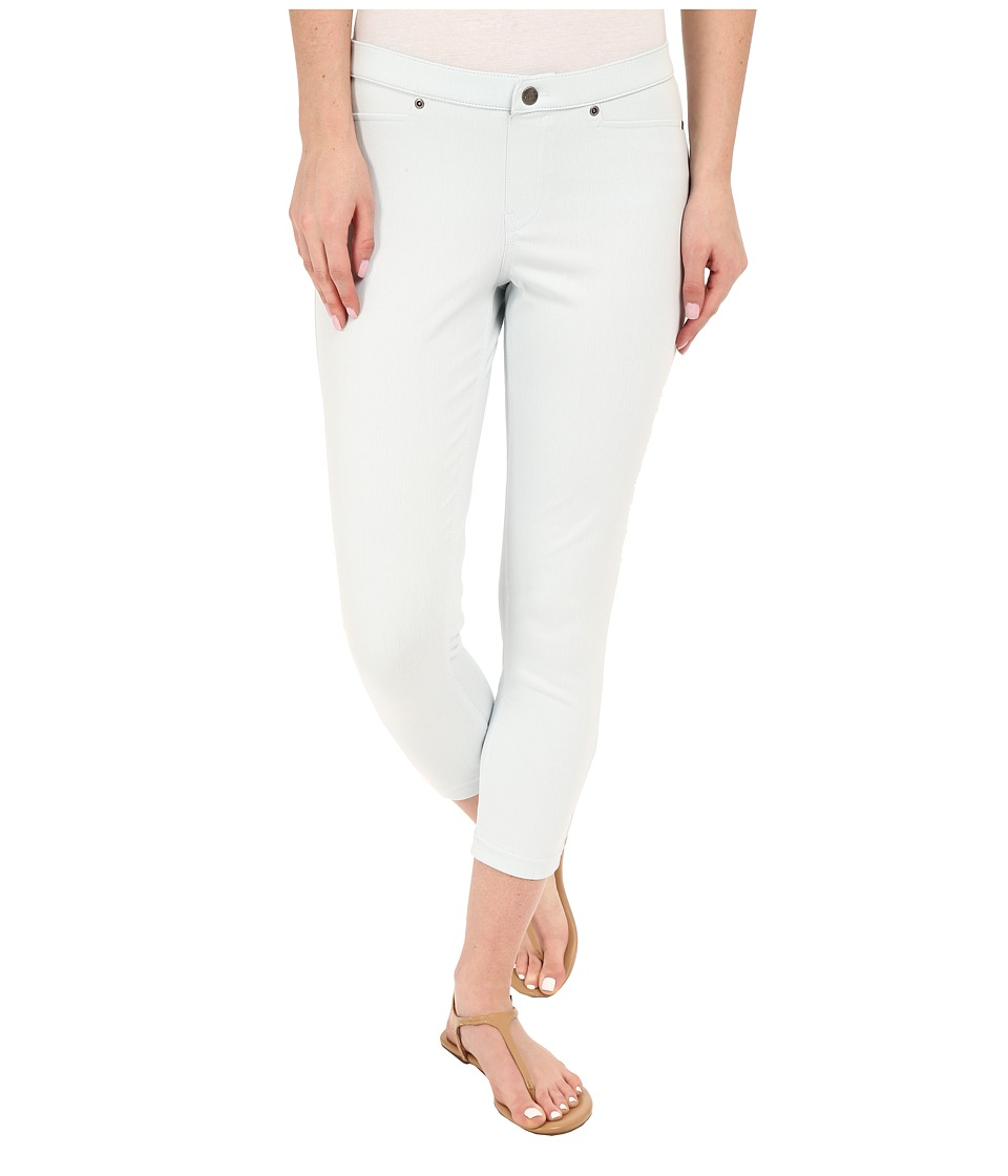 HUE - Super Smooth Denim Capris (Pearl Grey) Women's Jeans