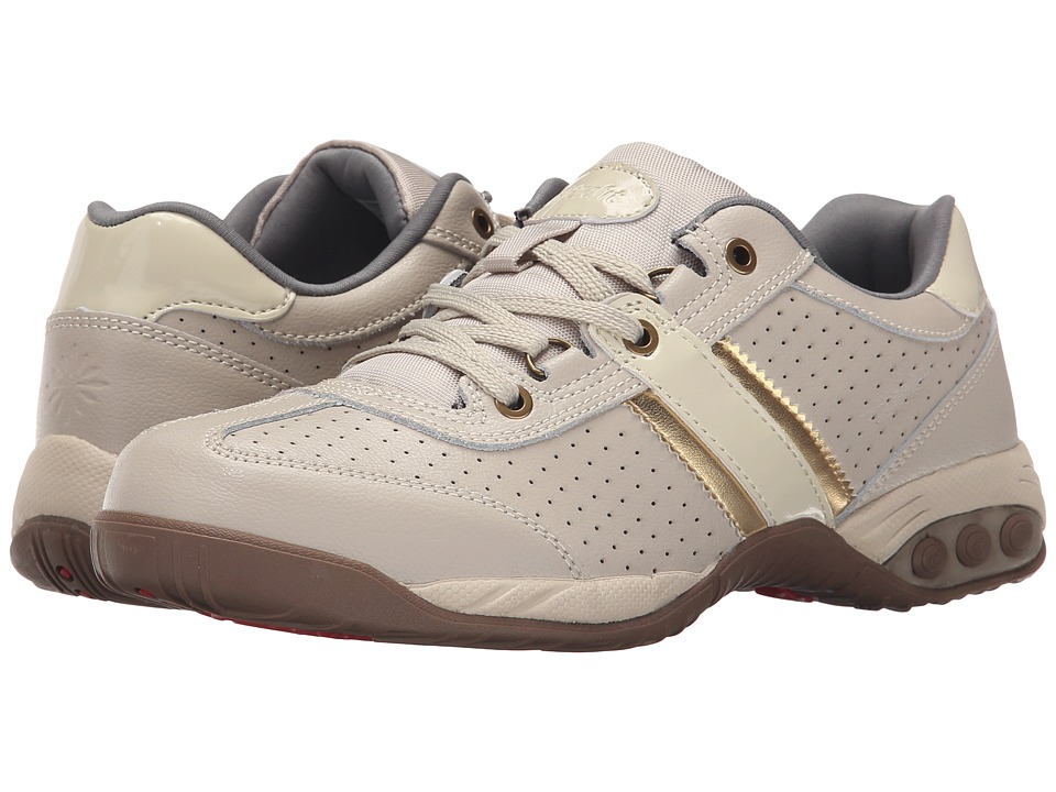 THERAFIT - Euro Oxford Low (Sand) Women's Lace up casual Shoes