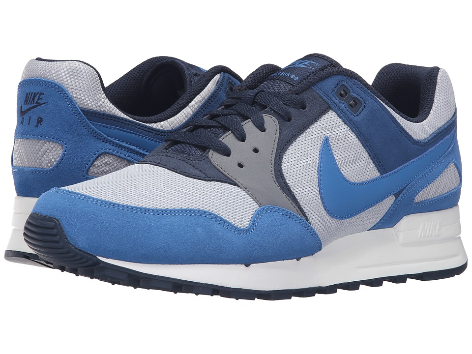 Nike - Air Pegasus '89 (Wolf Grey/Coastal Blue/Obsidian) Men's Lace up casual Shoes