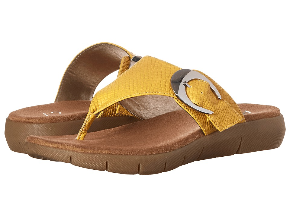 Aerosoles - A2 by Aerosoles Wipline (Yellow Snake) Women's Sandals