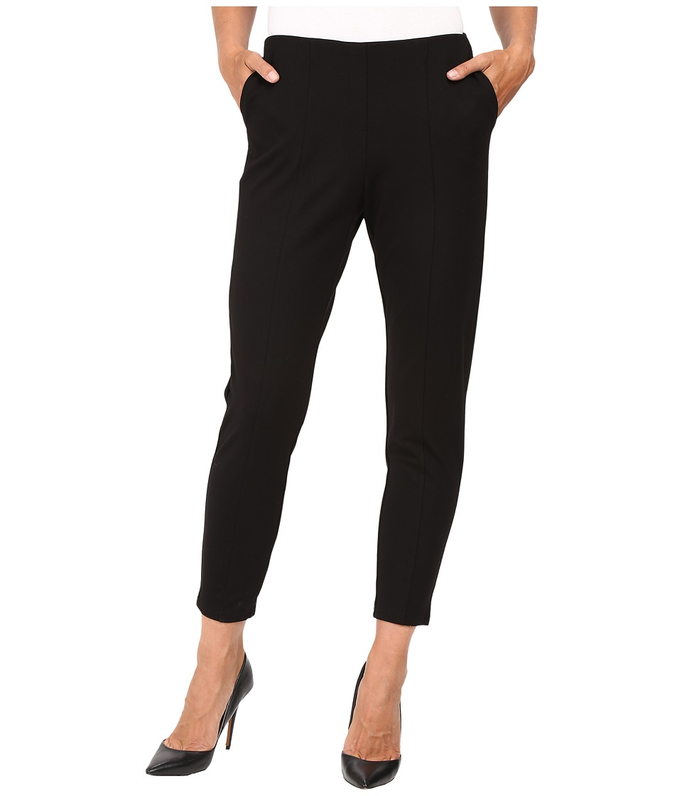 HUE - Travelista Seamed Luxe Ponte Skimmer (Black) Women's Casual Pants