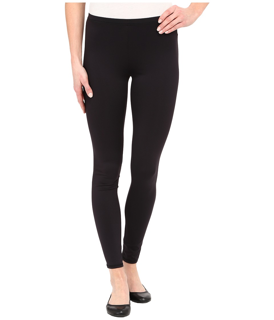 HUE - Styletech Cool Temp Knit Leggings (Black) Women's Casual Pants