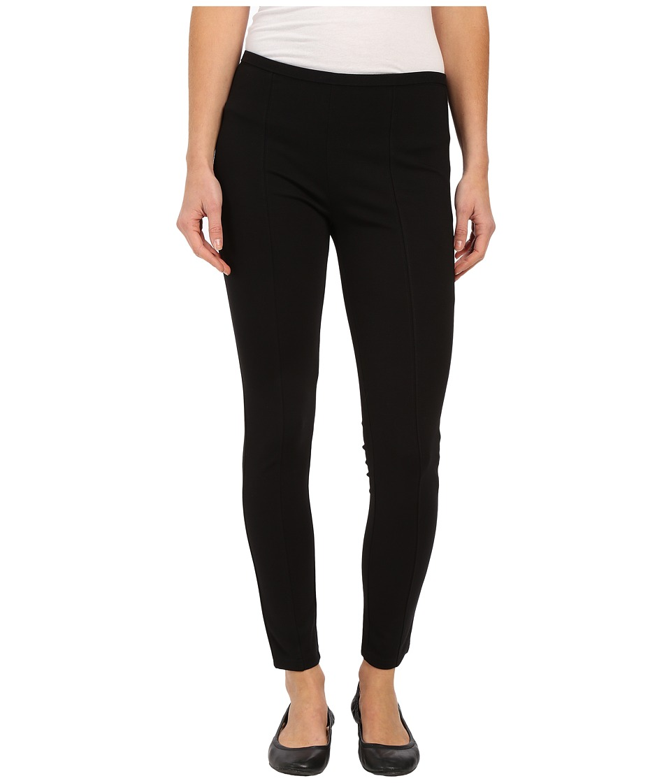 HUE - Styletech Blackout Ponte Skimmer (Black) Women's Casual Pants