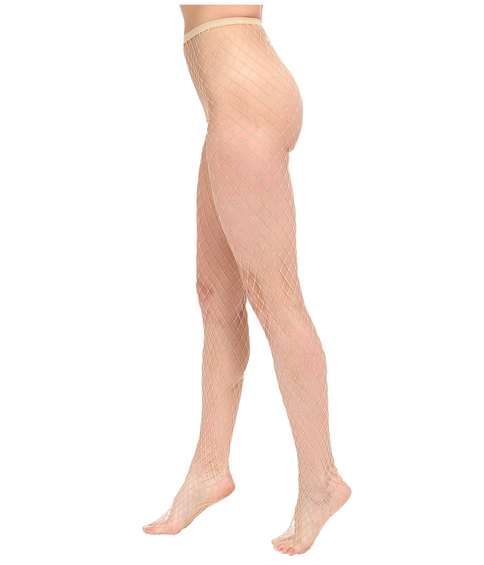 HUE - Bold Fishnet Tights (Natural) Women's Casual Pants