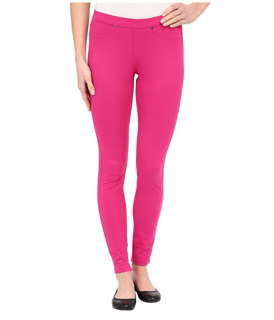 HUE - Spring Twill Leggings (Very Berry) Women's Casual Pants
