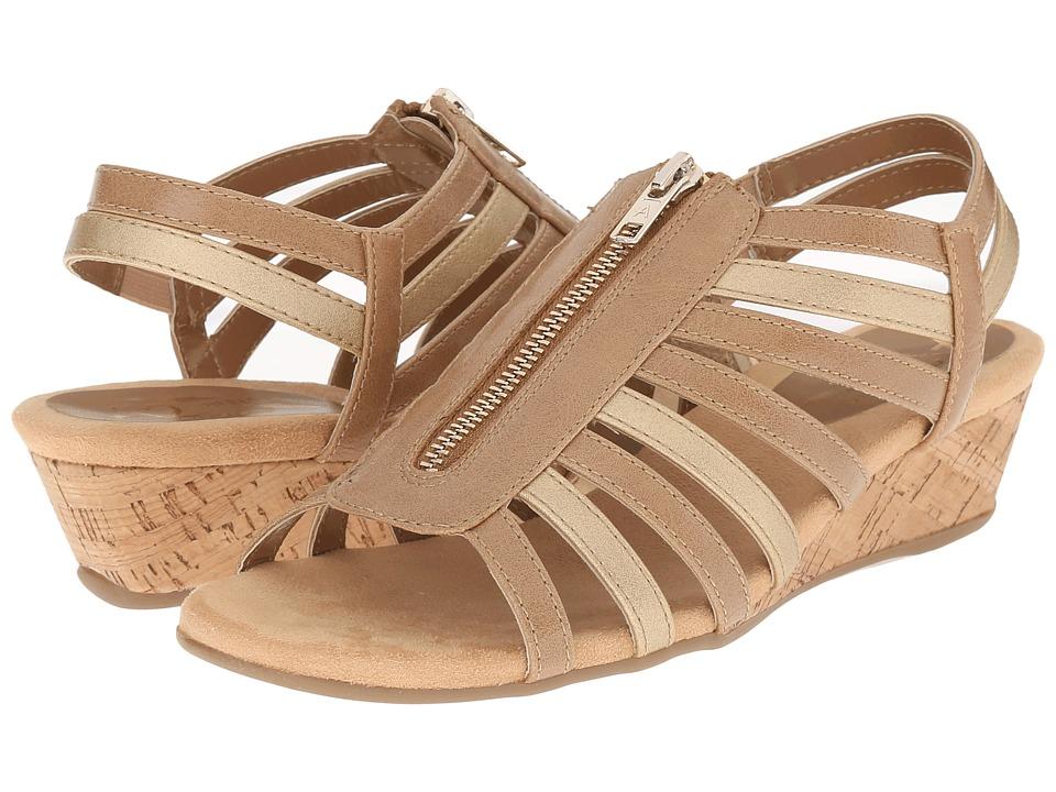 A2 by Aerosoles - Yetaway (Tan/Gold) Women's Shoes