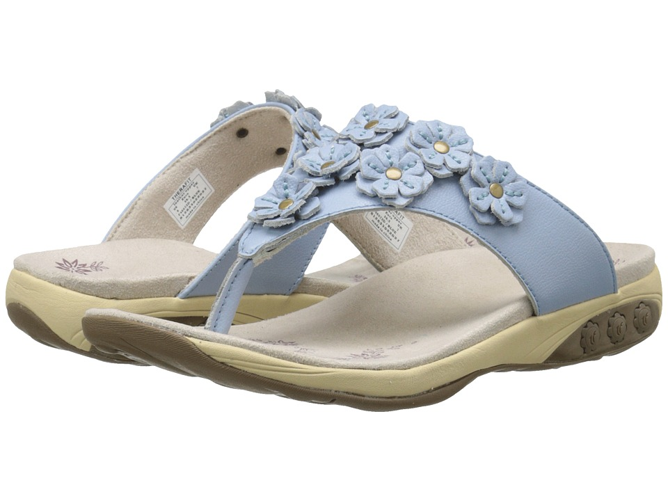 THERAFIT - Flora (Blue) Women's Sandals