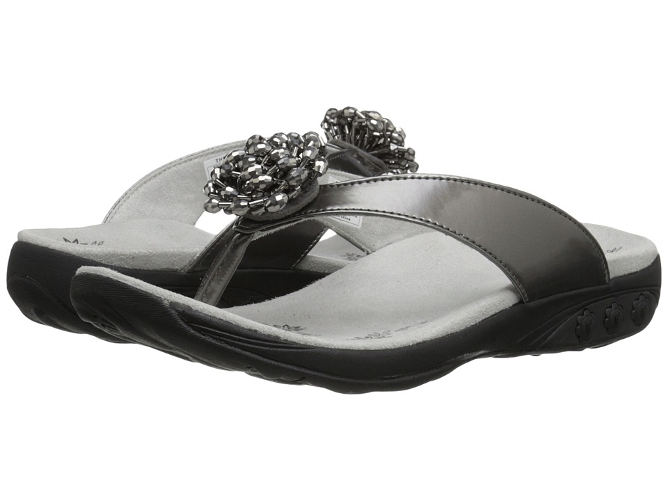 THERAFIT - Jasmine (Pewter) Women's Sandals