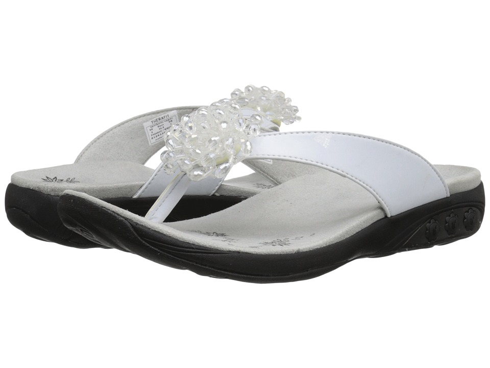 THERAFIT - Jasmine (White) Women's Sandals