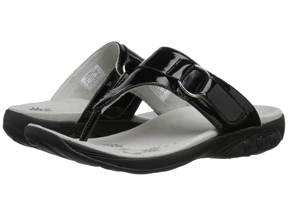 THERAFIT - Suzie (Black) Women's Sandals
