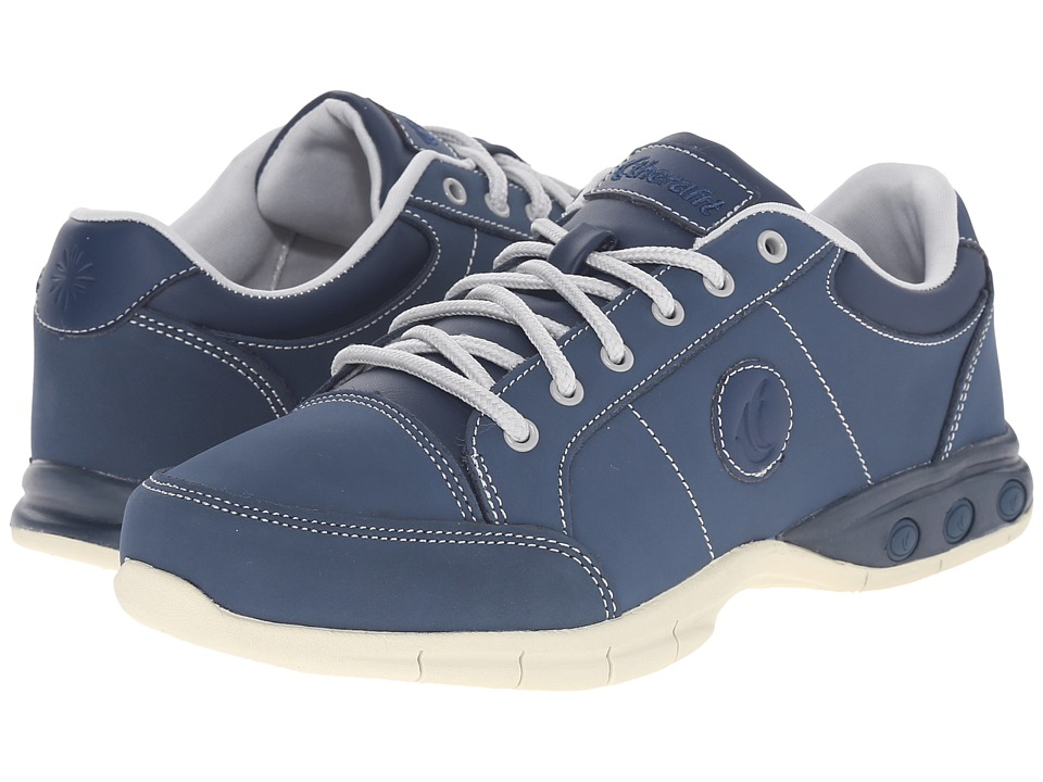THERAFIT - London Oxford (Navy) Women's Lace up casual Shoes