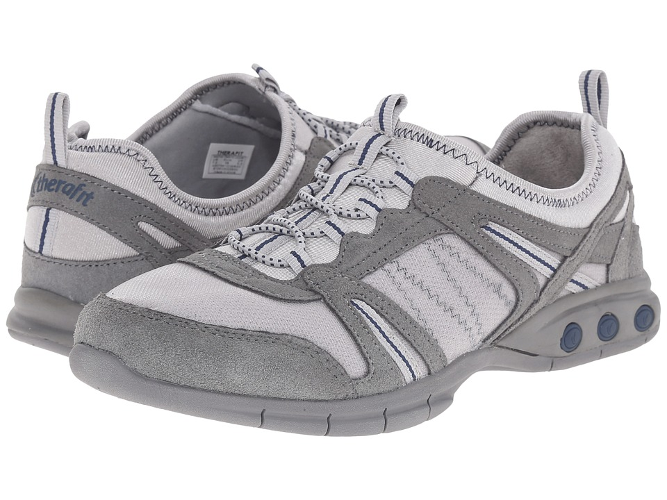 THERAFIT - Dawn (Grey) Women's Lace up casual Shoes