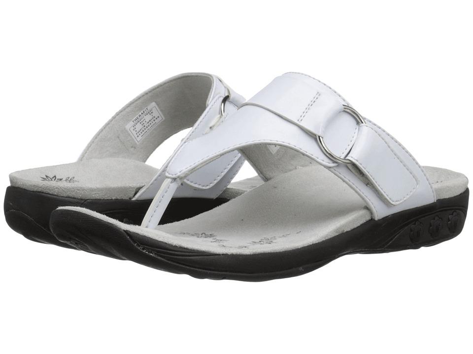 THERAFIT - Suzie (White) Women's Sandals