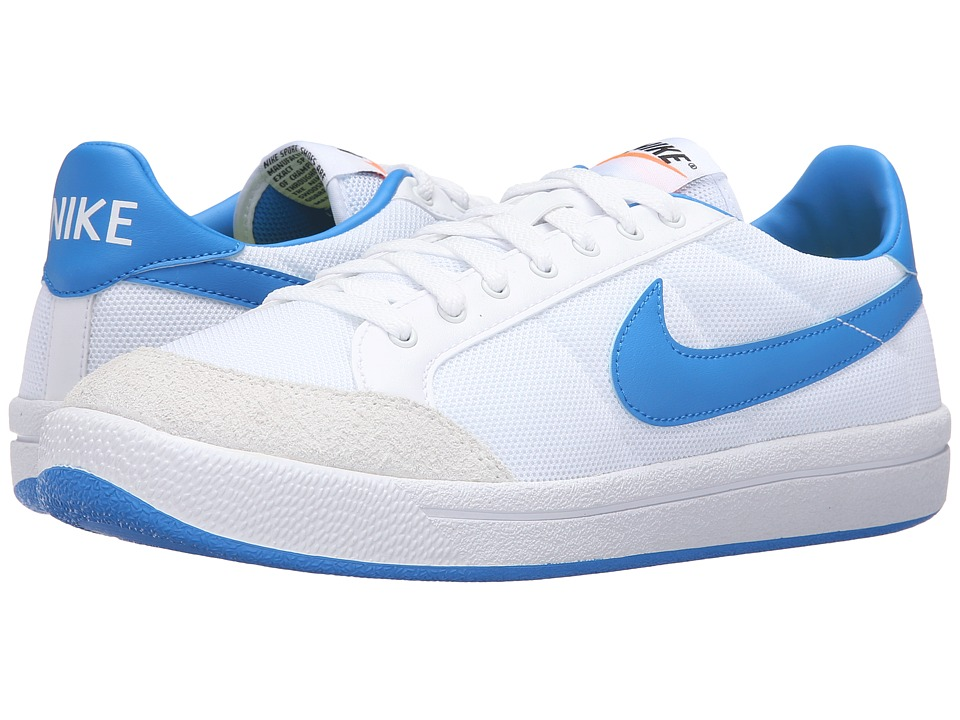 Nike - Meadow '16 TXT (White/Photo Blue/Sail) Men's Lace up casual Shoes