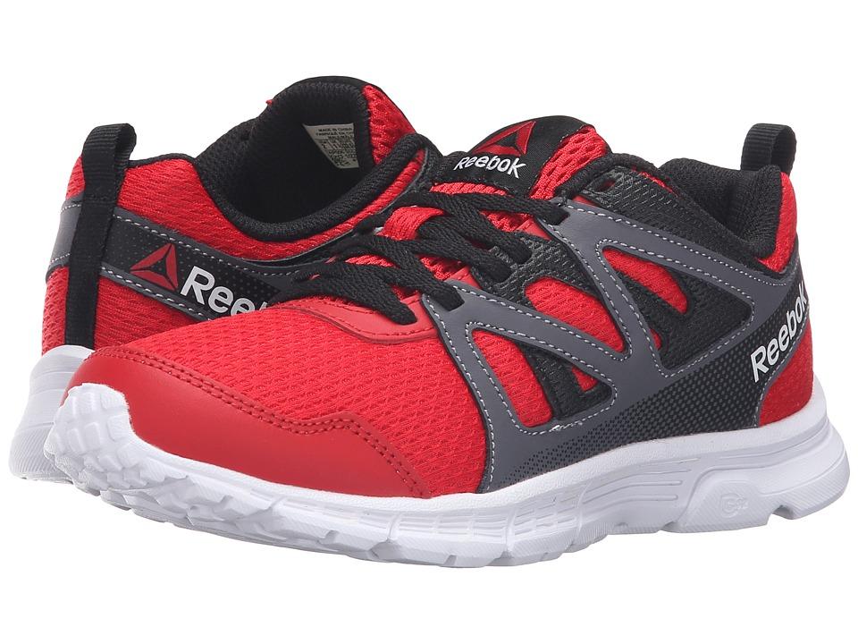 Reebok Kids - Run Supreme 2.0 (Little Kid/Big Kid) (Motor Red/Black/Ash Grey/White) Boy's Shoes