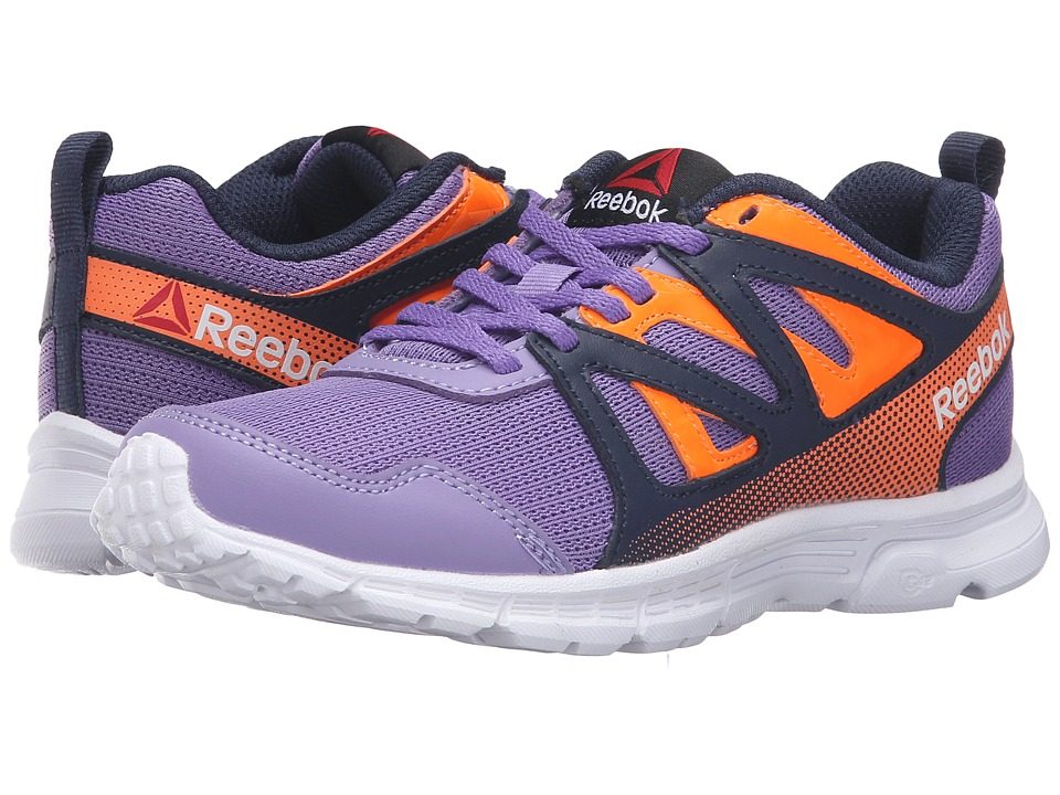 Reebok Kids - Run Supreme 2.0 (Little Kid/Big Kid) (Smokey Violet/Collegiate Navy/Electric Peach) Boy's Shoes
