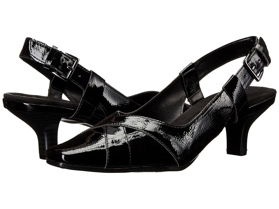 A2 by Aerosoles Dimprint (Black Patent) Women