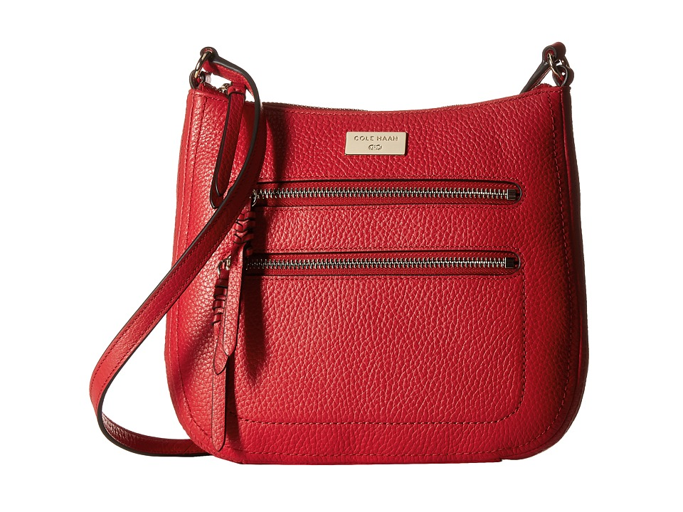 Cole Haan - Ellie Crossbody (True Red) Cross Body Handbags