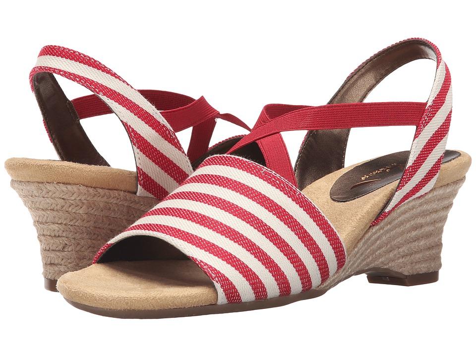 Aerosoles - Boyzenberry (Red Stripe) Women