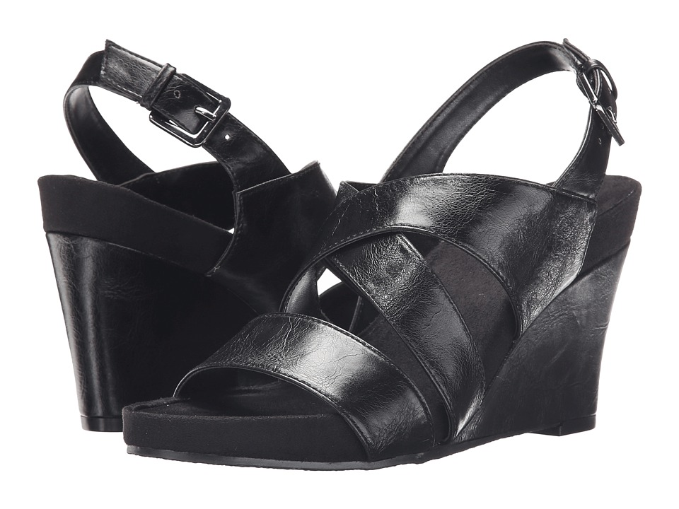 A2 by Aerosoles - True Plush (Black) Women's Shoes