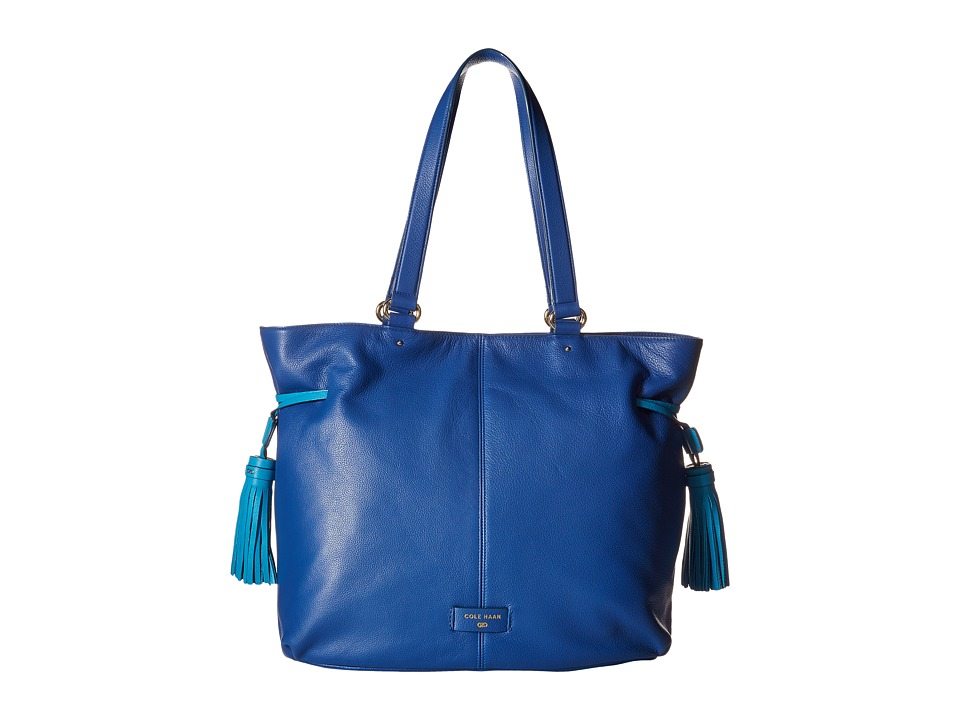 Cole Haan - Anisa Tote (Cobalt/Sea Blue) Tote Handbags
