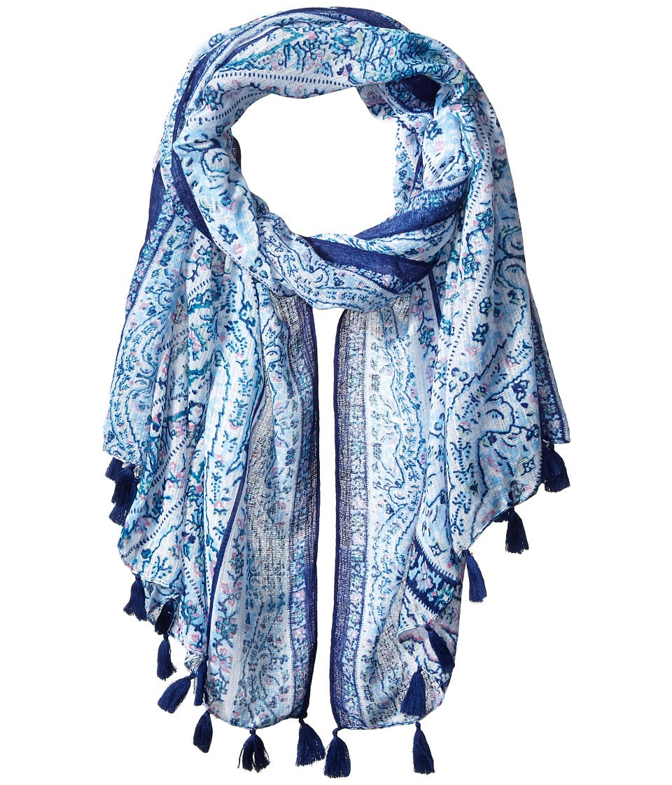 BCBGeneration - Fairy Tiles Scarf (Estate Blue) Scarves