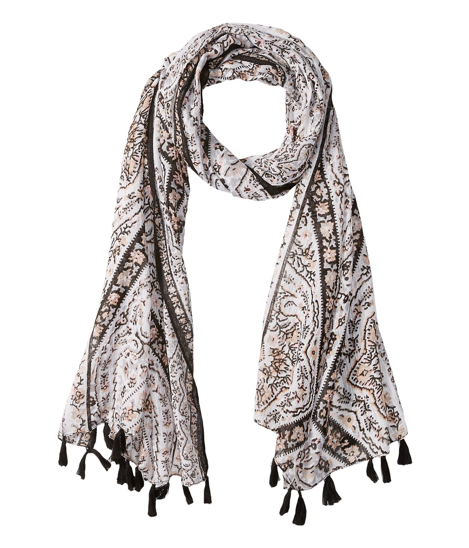 BCBGeneration - Fairy Tiles Scarf (Cloud Dancer) Scarves