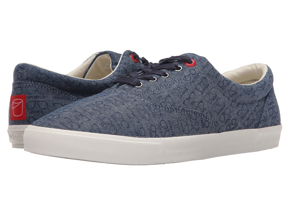 BucketFeet - Beer Goggles (Navy) Men's Lace up casual Shoes