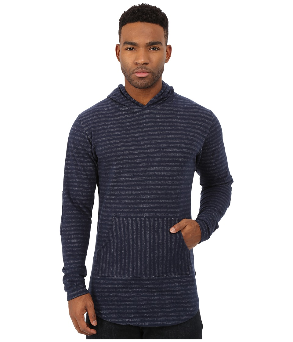Akomplice - Leon Hoodie (Navy) Men's Sweater