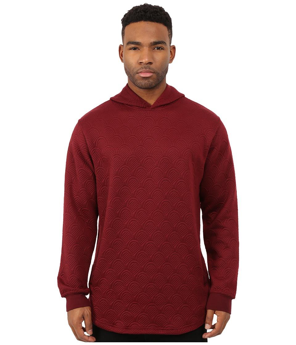 Akomplice - Thor Hoodie (Maroon) Men's Sweater