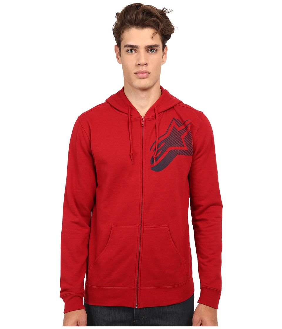 Alpinestars - Lowbrow Zip Fleece (Cardinal) Men's Sweatshirt