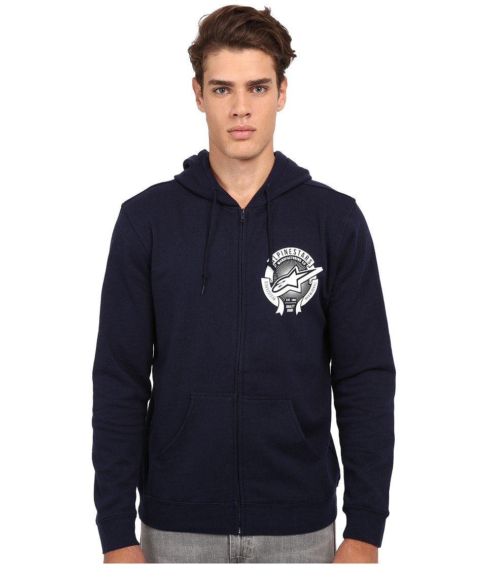 Alpinestars - Four Seasons Zip Fleece (Navy) Men's Sweatshirt