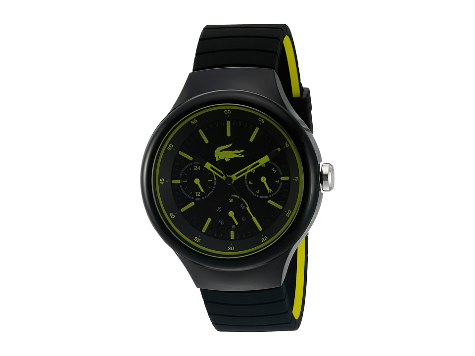 Lacoste - 2010867 - BORNEO (Black/Yellow) Watches