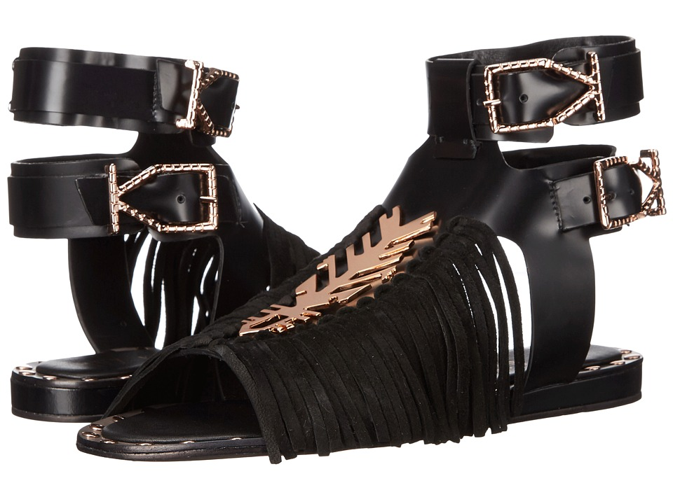 IVY KIRZHNER - Indochine (Black) Women's Sandals