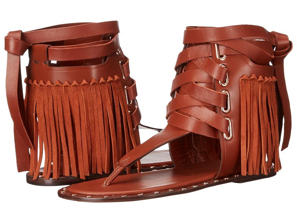 IVY KIRZHNER - Solstice (Rust/Tobbaco) Women's Sandals