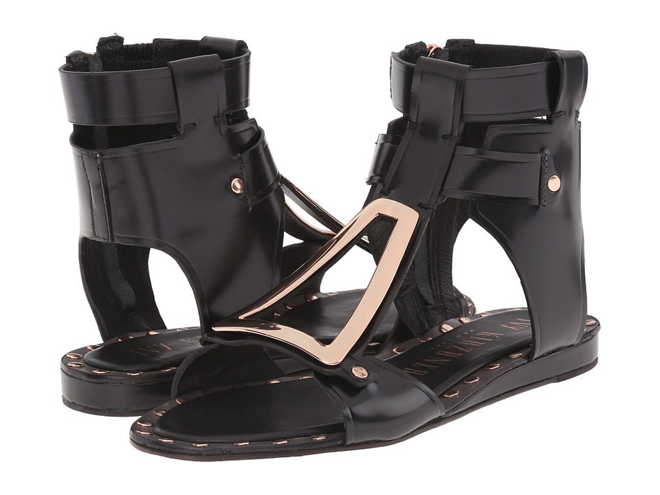 IVY KIRZHNER - Intrepid (Black) Women's Sandals