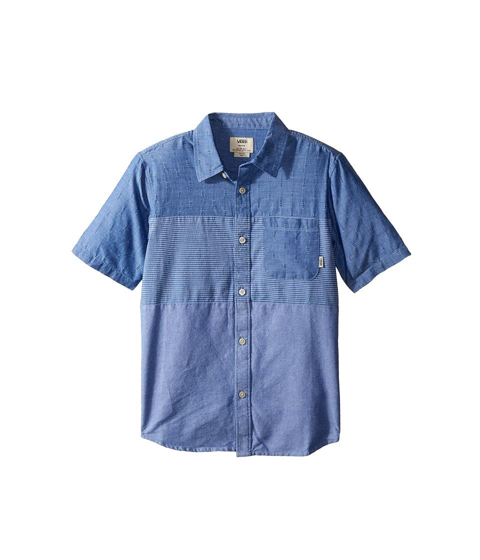 Vans Kids - Storrow (Big Kids) (True Blue) Boy's T Shirt