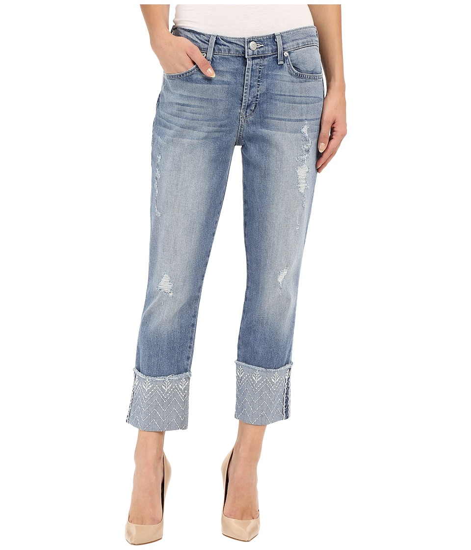 Level 99 - Morgan w/ Embroidery in Sea (Sea) Women's Jeans