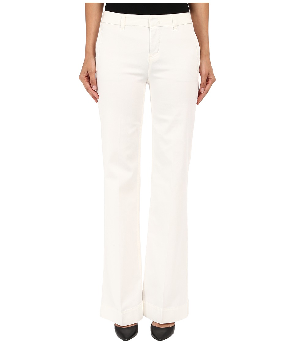 Level 99 - Natasha High Waist Flare in Cream (Cream) Women's Casual Pants
