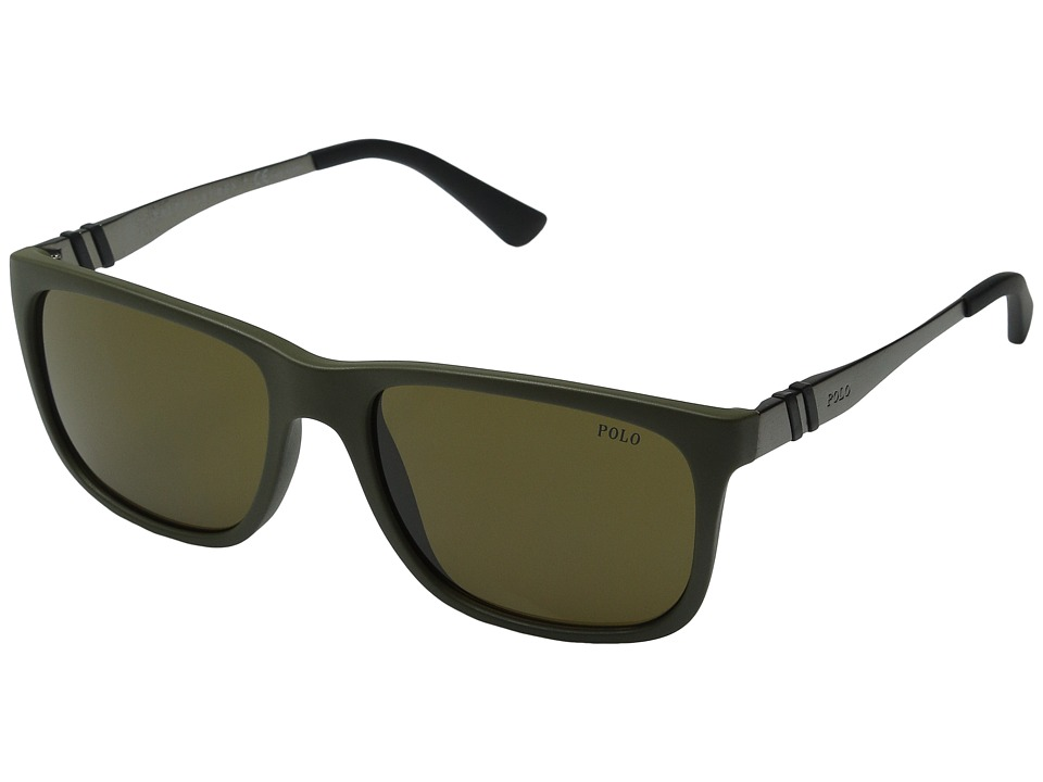 Polo Ralph Lauren - 0PH4088 (Olive Green) Fashion Sunglasses