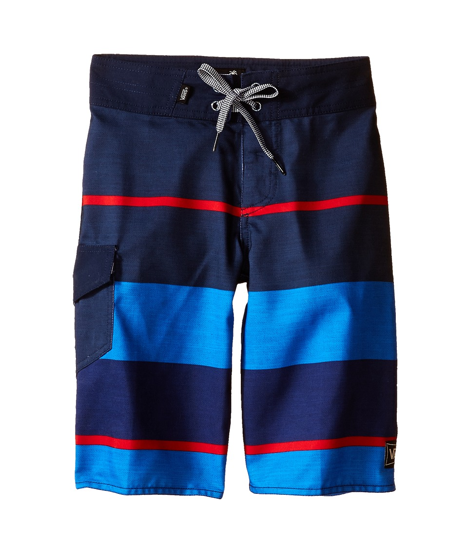 Vans Kids - 56th Street Boardshorts (Little Kids/Big Kids) (Dress Blues) Boy's Swimwear