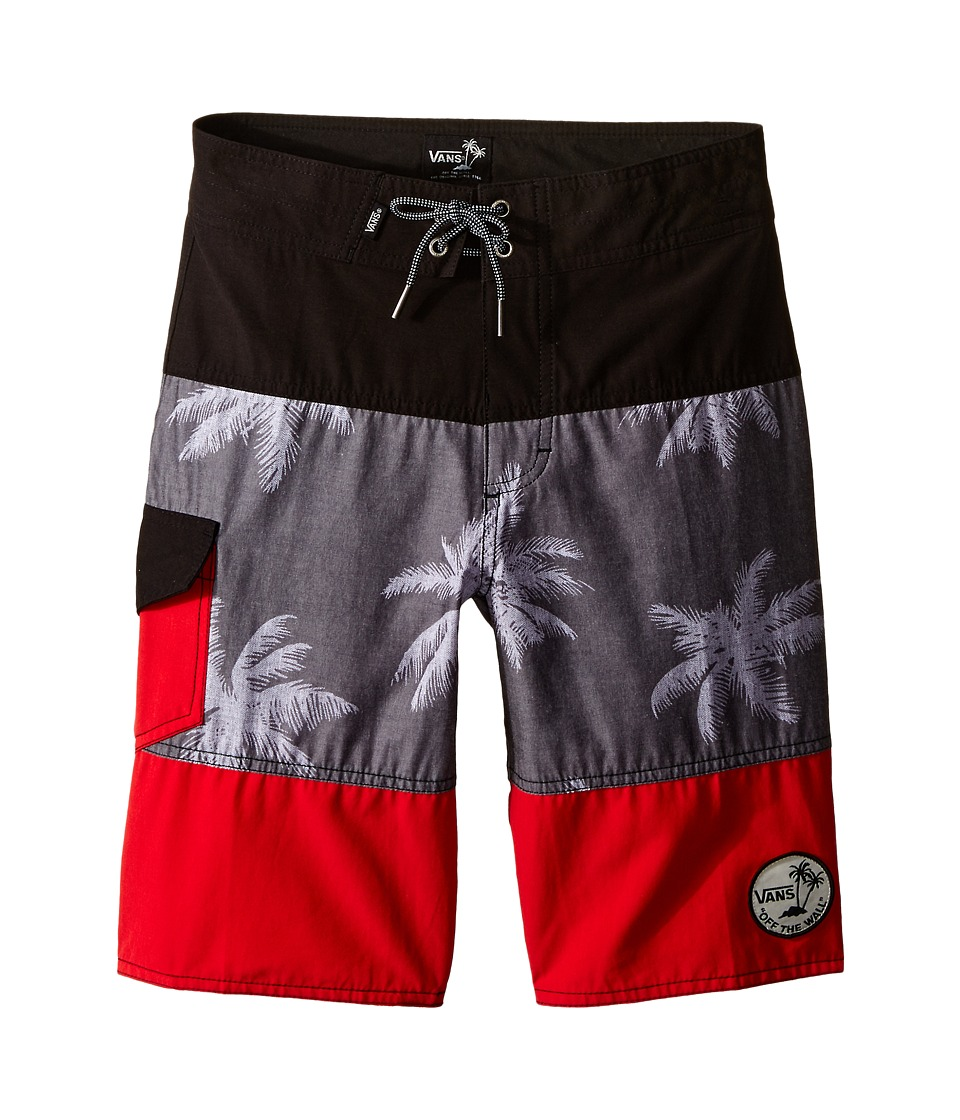 Vans Kids - Psych Panel (Little Kids/Big Kids) (Black/Los Psychos) Boy's Shorts