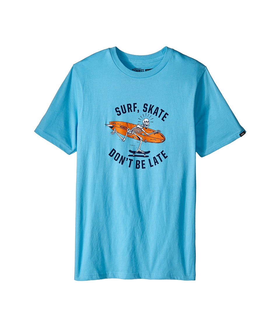Vans Kids - Don't Be Late (Big Kids) (Blue Note) Boy's Short Sleeve Pullover