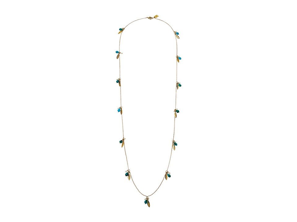 LAUREN Ralph Lauren - Pink Sands 36 Cluster Bead Necklace (Turquoise/Multi) Necklace