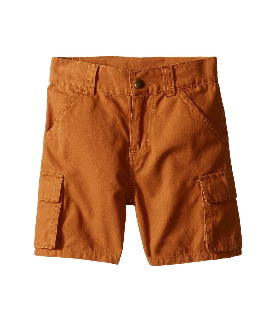 Carhartt Kids - Canvas Cargo Shorts (Toddler) (Carhartt Brown) Boy's Shorts