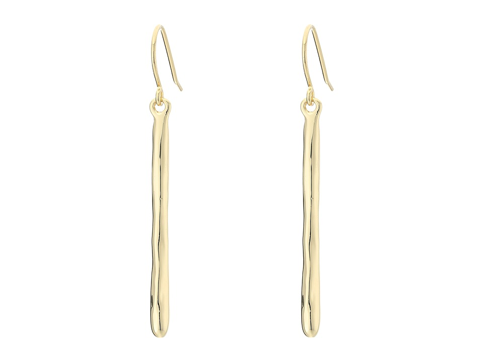 LAUREN Ralph Lauren - Amalfi Coast Organic Disk Stick Drop Earrings (Gold) Earring